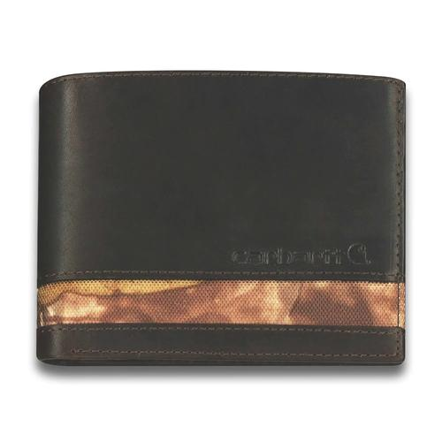 Carhartt Oil Tan Realtree Wallet