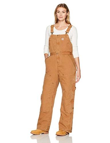 Carhartt Women's Weathered Duck Wildwood Bib Overall