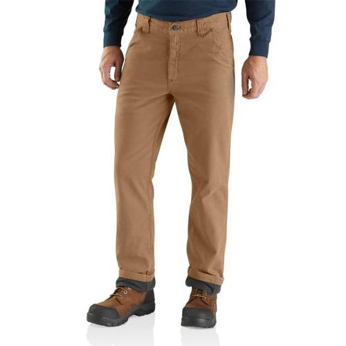 Carhartt Men's Rugged Flex® Rigby Dungaree Knit Lined Pant