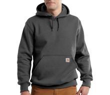 Carhartt Men's Rain Defender Paxton Hooded Heavyweight Sweatshirt CARBON_HEATHER