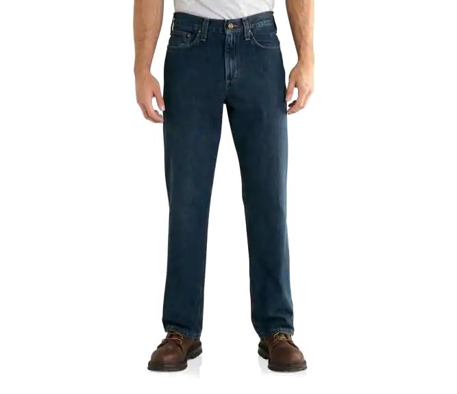 Carhartt Men's Relaxed Fit Holter Jean FRONTIER