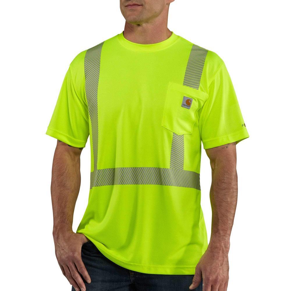 Carhartt Force High-Visibility Short-Sleeve Class 2 T-Shirt BRIGHT_LIME
