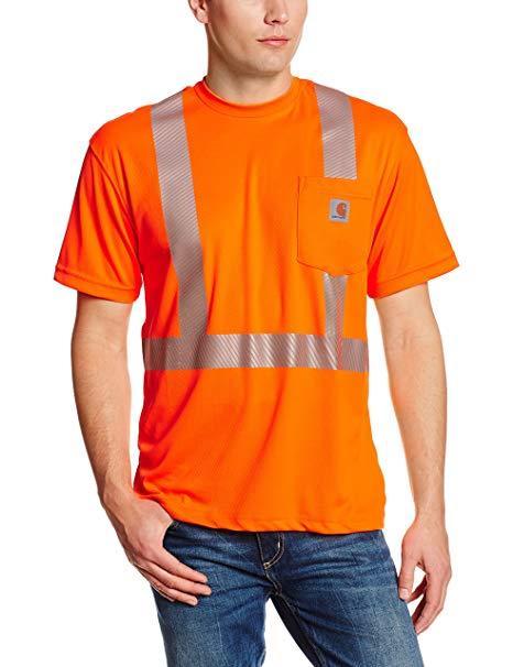 Carhartt Force High-Visibility Short-Sleeve Class 2 T-Shirt BRITE_ORANGE
