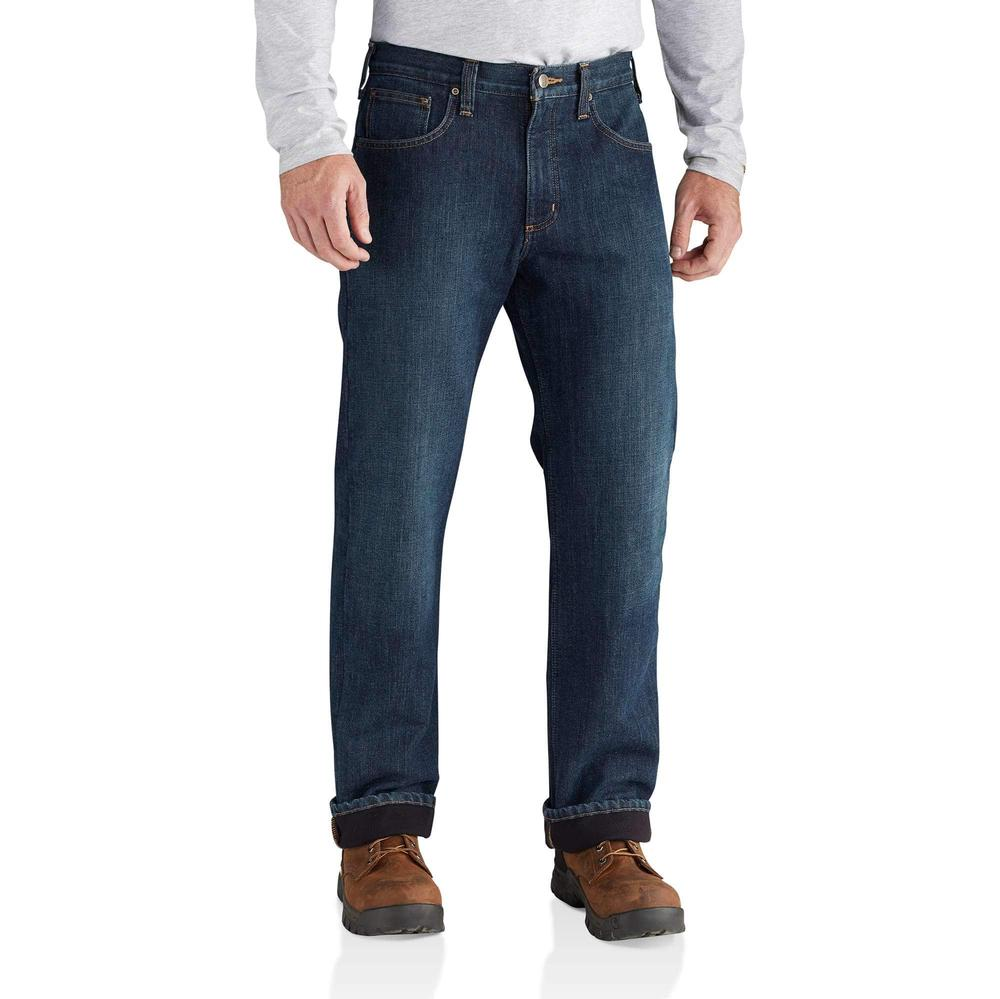 Carhartt Men's Holter Fleece Lined Relaxed Fit Jeans