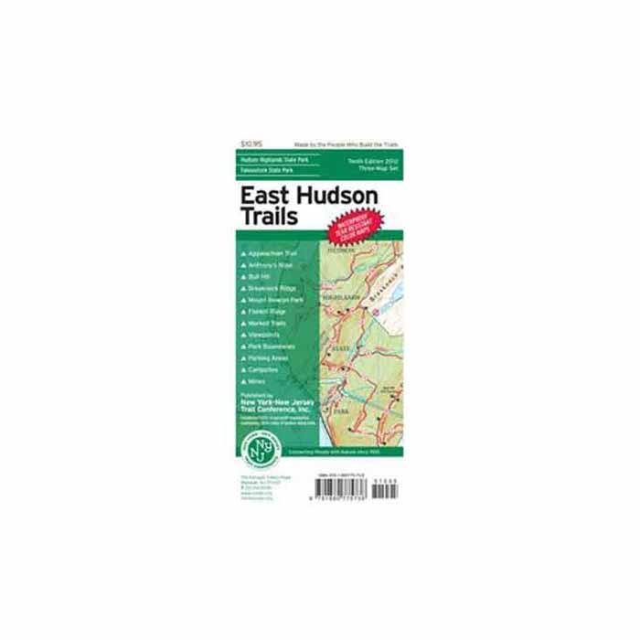 Ny/Nj Trail Conference East Hudson Trails Map