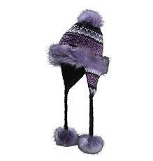 Starling Hats Filip Country Faux Fur Tassel Hat