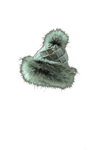 Starling Hats Tania Faux Fur Pom Pom Beanie