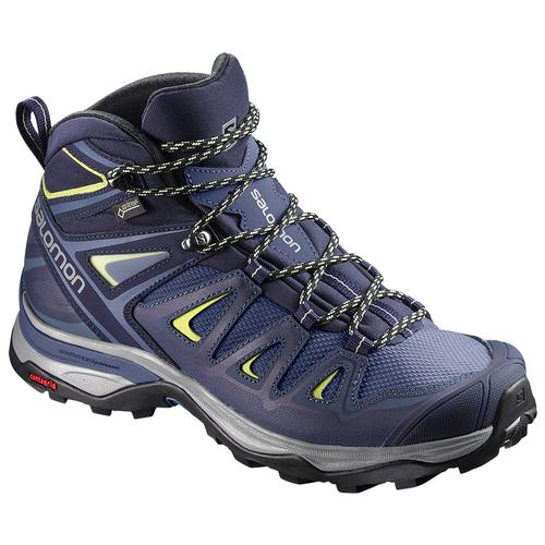 Salomon Women's X Ultra 3 Mid GTX Boot Crown Blue Wide