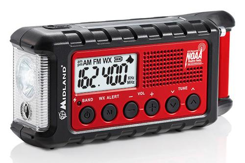 Midland ER310 E+Ready Emergency Crank Weather Radio
