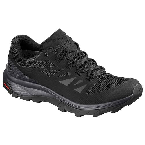 Salomon Women's Outline GTX Hiking Shoe in Black