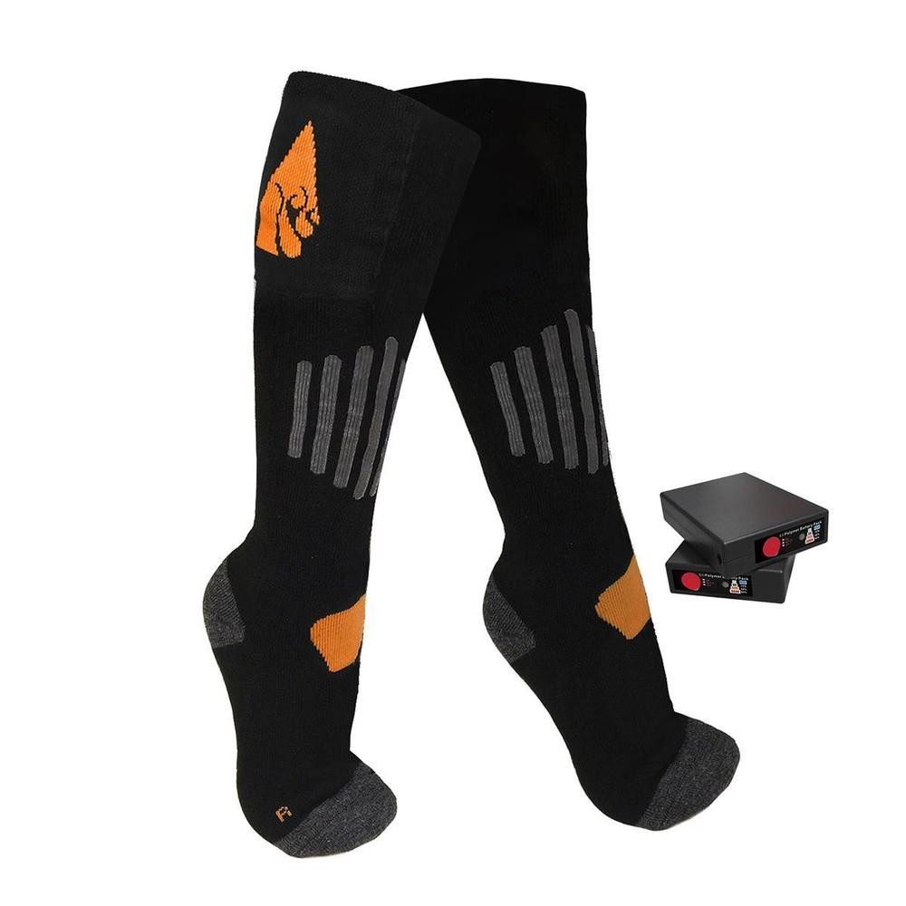 Actionheat 3.7v Rechargeable Battery Heated Wool Socks