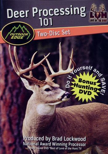 Outdoor Edge Deer Processing 101 DVD