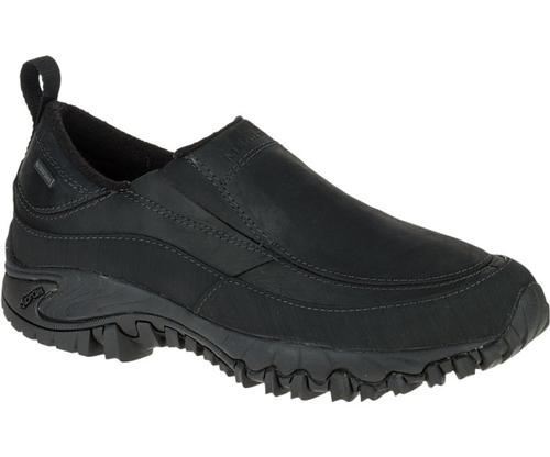 Merrell Men's Shiver Moc 2 Waterproof Black