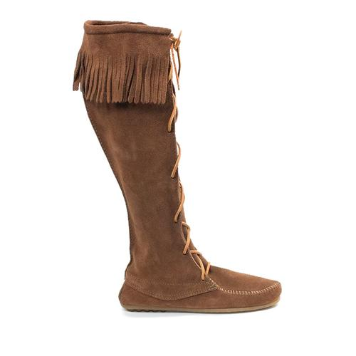 Minnetonka Moccasin Co. Women's Front Lace Knee High Boot