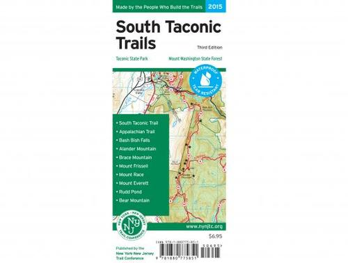 NY/NJ Trail Conference South Taconic Trails Map