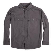Berne Men's Long Sleeve Ripstop Work Shirt SLATE