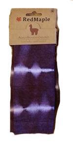 RedMaple Sportswear Co. Alpaca Bamboo Tie Dye Sock