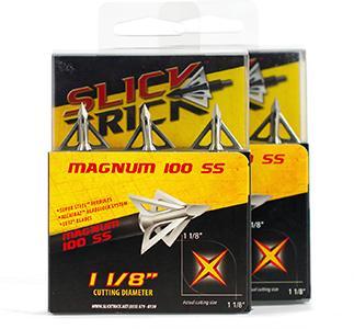 Slick Trick Pro Series Stainless Steel Magnum Broadheads