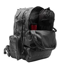 World Famous Sports 3 Day Tactical Pack BLACK