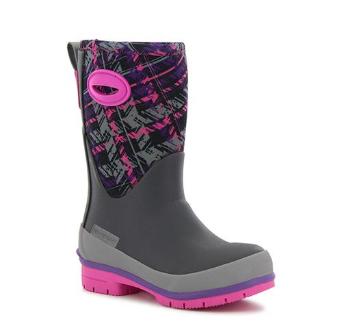 Washington Shoe Company Youth Rad Plaid Neoprene Boot