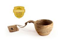 Kupilka 37 12oz Eco-Friendly 2-in-1 Mug BROWN