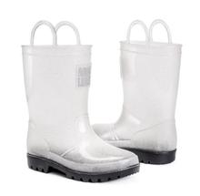 Muk Luks Girl's Clear Molly Rainboots CLEAR