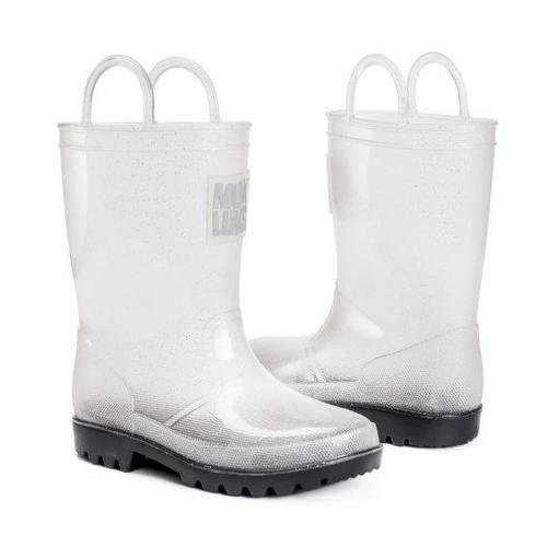 Muk Luks Girl's Clear Molly Rainboots