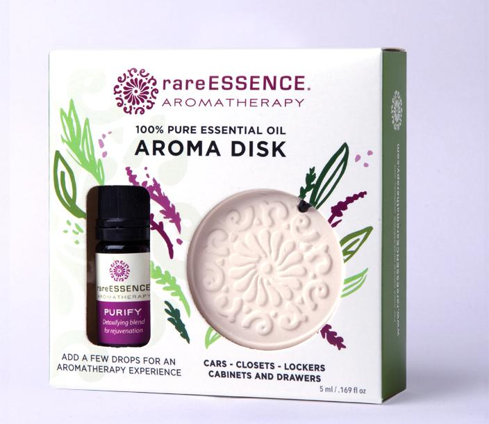 Rare Essence Aroma Disk Purify Set