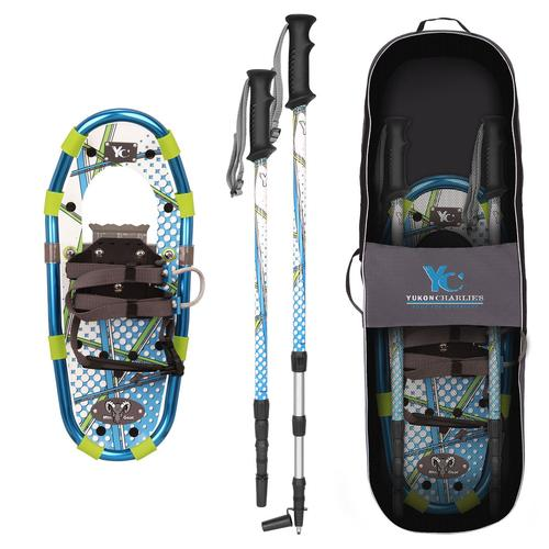 Yukon Charlie's Youth Aluminum Ballistic Blue Adventure Kit