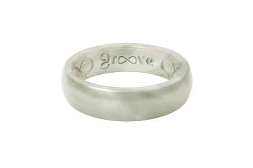 Groove Thin Silicone Ring