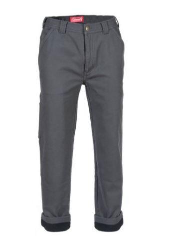 Coleman Men's Fleece Lined Pant CHARCOAL