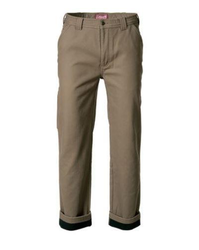 Coleman Men's Fleece Lined Pant KHAKI