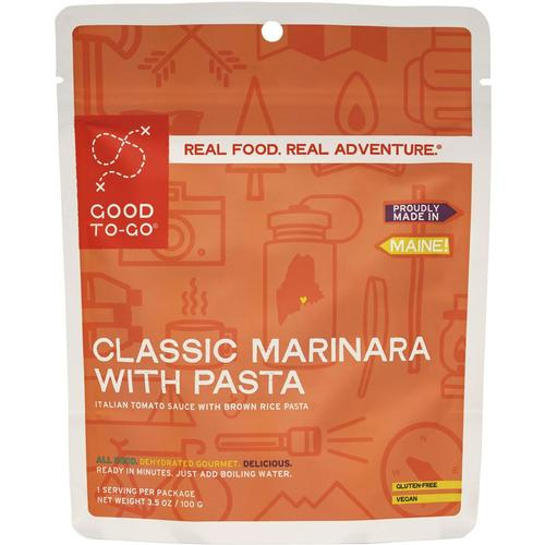 Good To-Go Classic Single Serving Marinara With Pasta