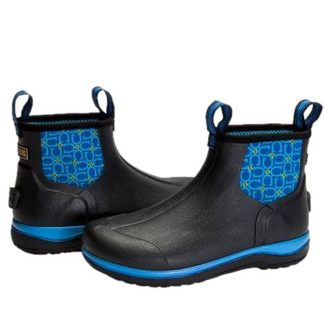 Noble Outfitters Women's Tahoe Blue Horseshoe Print Boot