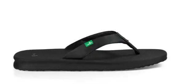 10 Sanuk Yoga Mat Wander Women/'s Sandals Black