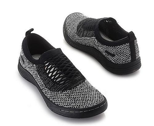 Jambu Women's Joy Knit Memory Foam Slip-on Shoes