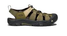 Keen Footwear Men's Newport Hydro Sandle DKOLIVE/ANTIQUEBRNZE