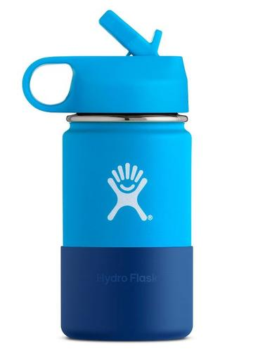 Hydroflask 12 oz Kids Wide Mouth with Straw Lid
