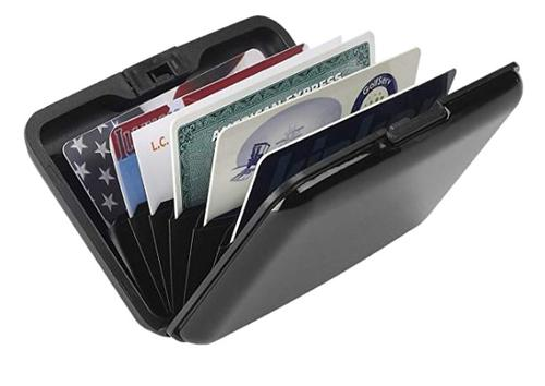 L.C. Industries RFID-Blocking Aluminum Wallet