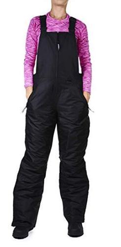 Swiss Alps Women's Insulated Snow and Ski Bib Pants