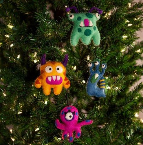 Icelandic Designs Monster Ornaments