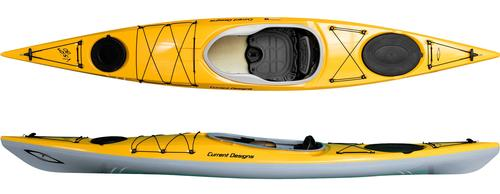 Current Designs Vision 130 Hybrid Kayak with Skeg