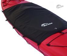 Seals Spray Skirt Tandem Kayak Cockpit Drape BLACK
