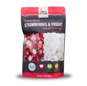 Wise Foods Freeze Dried Strawberries and Yogurt