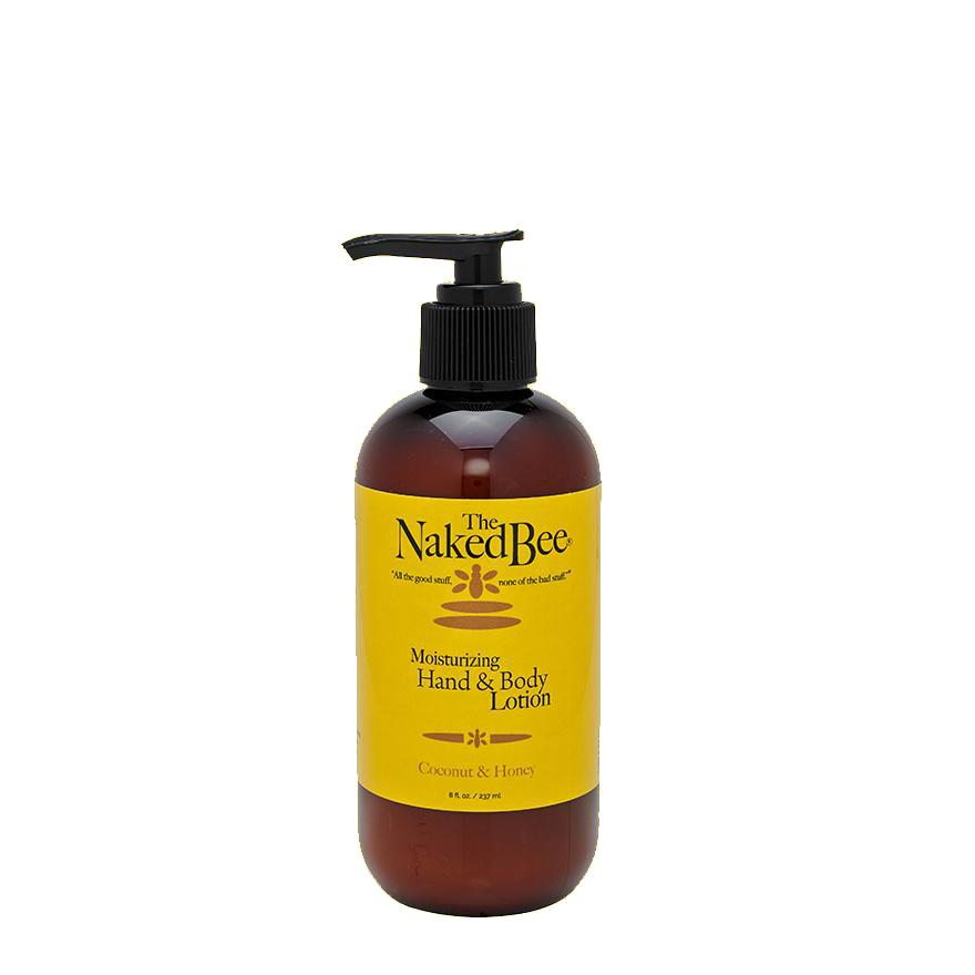 The Naked Bee Coconut and Honey Lotion 8oz Pump Bottle COCONUT