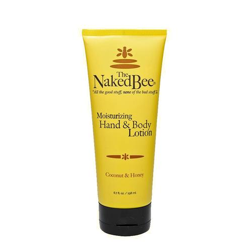The Naked Bee Coconut and Honey Lotion 6oz Tube