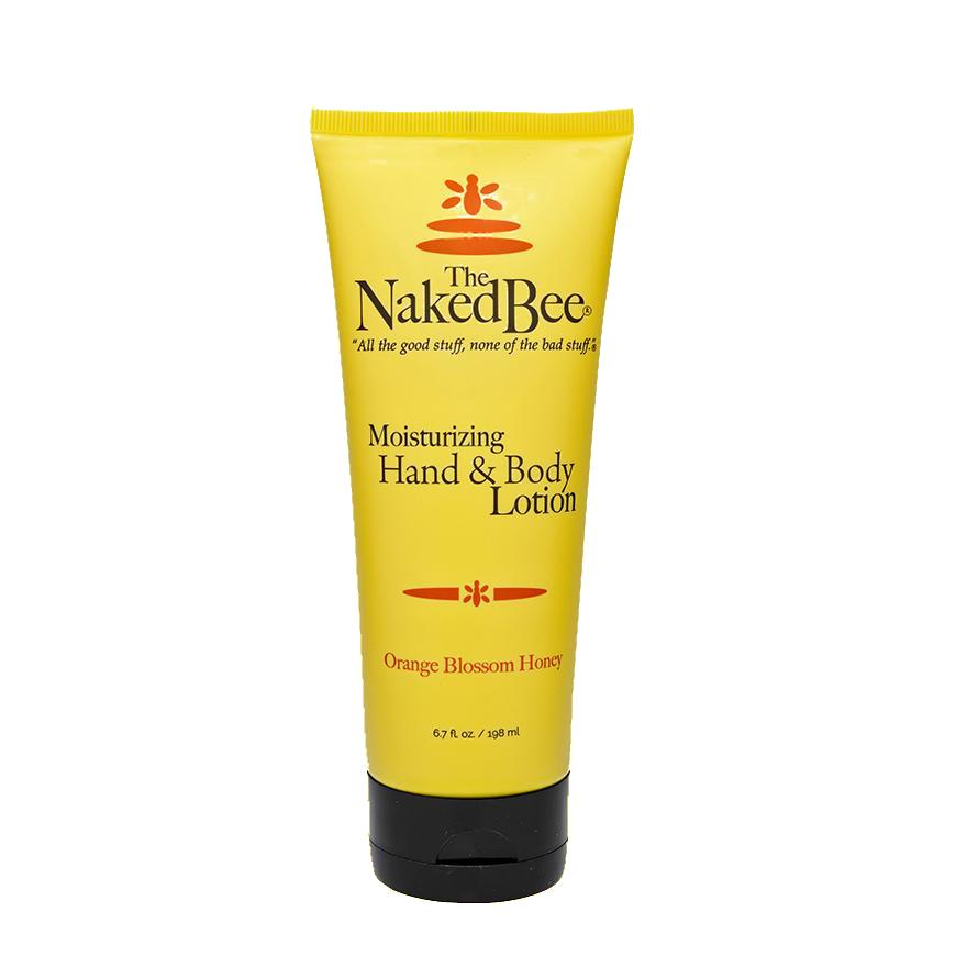 The Naked Bee Orange Blossom Honey Lotion 6oz Tube