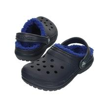 Crocs Classic Fuzz Lined Clog CERULEAN