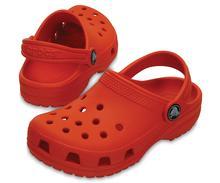 Crocs Kid's Classic Clog TANGERINE