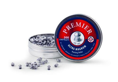 Crosman .22 Domed 14.3gr Premier Pellets 500ct